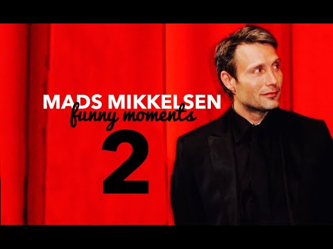 Mads Mikkelsen // Cute And Funny Moments Pt. 2