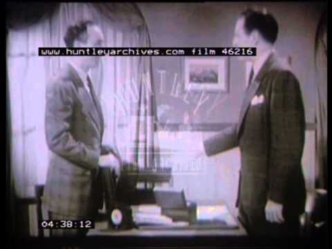 Film about banks and banking in general, 1940's -- Film 46216