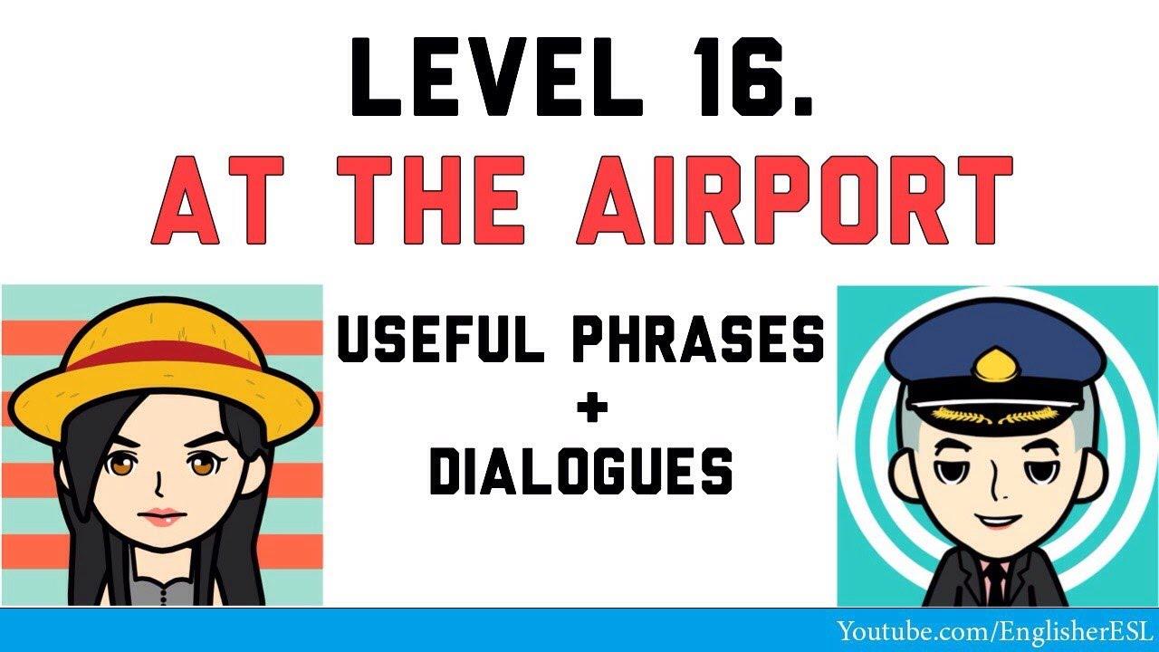 аэропорту знакомство на в диалоги англ