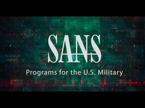 SANS Cybersecurity Programs for the Department of Defense