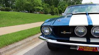 1967 Shelby GT 350 Convertible for sale with test drive, driving sounds, and walk through video