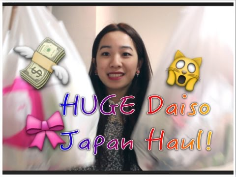 ʕ•ᴥ•ʔ DAISO HAUL JAPAN 2015 - What I bought from Tokyo Daiso in March!