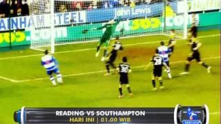 Barclays Premier League : Reading vs Southampton di @Globaltvseru