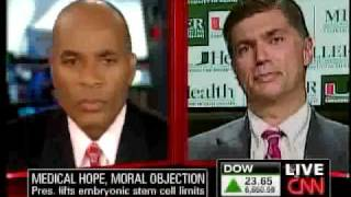 CNN Part 4 - Stem Cell Reversal by Obama - March 9, 2009
