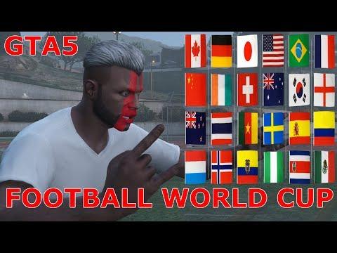 GTA 5 FOOTBALL WORLD CUP 2018 RUSSIA.