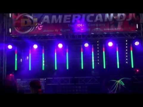 LDI 2012 New Product Debut: American DJ Sweeper Beam LED