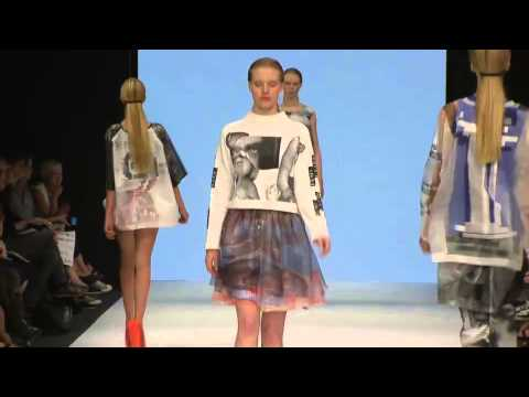 The Swedish School of Textiles at Mercedes-Benz Fashion Week