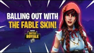 FABLE skin!!! 13 frags half game solo vs squads!!! Fortnite Battle Royal Gameplay - Lumi