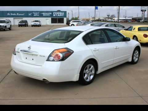 2008 Nissan Altima White Emporia Ks Youtube