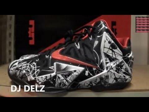 Nike Lebron 11 XI Graffiti Sneaker Review + On Feet W   DjDelz Dj Delz c89855f15