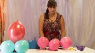 Подарок для малыша из воздушных шаров(Видео урок по созданию фигуры из воздушных шаров., 2013-07-19T16:01:11.000Z)