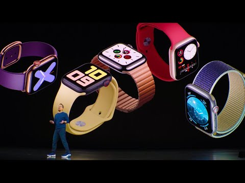 Full Apple Watch series 5 reveal at Apple's 2019 event