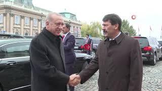 Cumhurbaşkanı Erdoğan, Macaristan Cumhurbaşkanı Ader'le Görüştü