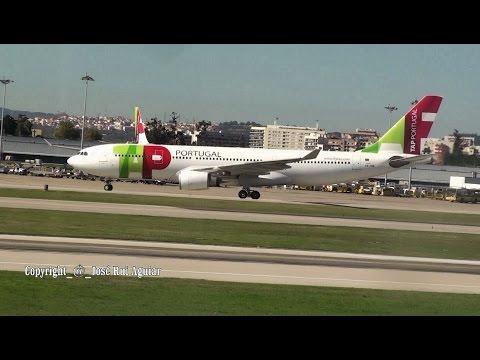 Lisbon Airport Ground Handling Service Landings Take-offs Emirates TAP Lufthansa Swiss United