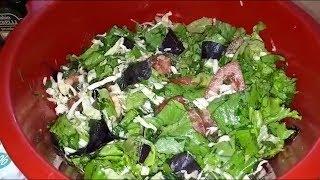 Самый полезный салат из свежих овощей и зелени. Простой рецепт для здоровья и энергичности