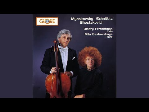 Sonata for Cello and Piano in D Minor, Op. 40: II. Allegro