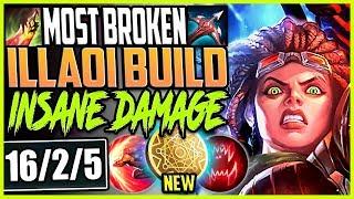 MOST BROKEN SEASON 9 ILLAOI BUILD | NEW KLEPTOMANCY OP | LoL Top Illaoi vs Darius Season 9 Gameplay