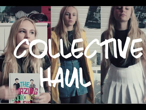 Collective HAUL || American Apparel, Primark, Thrift Store, H&M,......