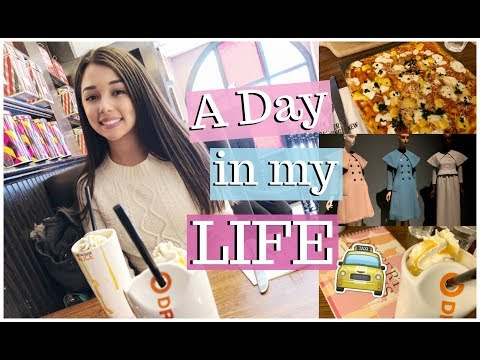 A DAY IN MY LIFE IN NYC ♡ Coffee Date & Max Brenner // Love Lei