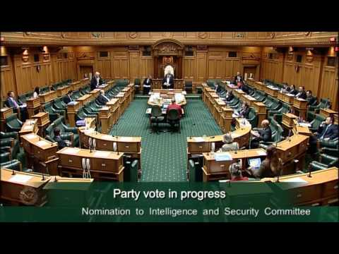 Nomination to Intelligence and Security Committee - Video 6