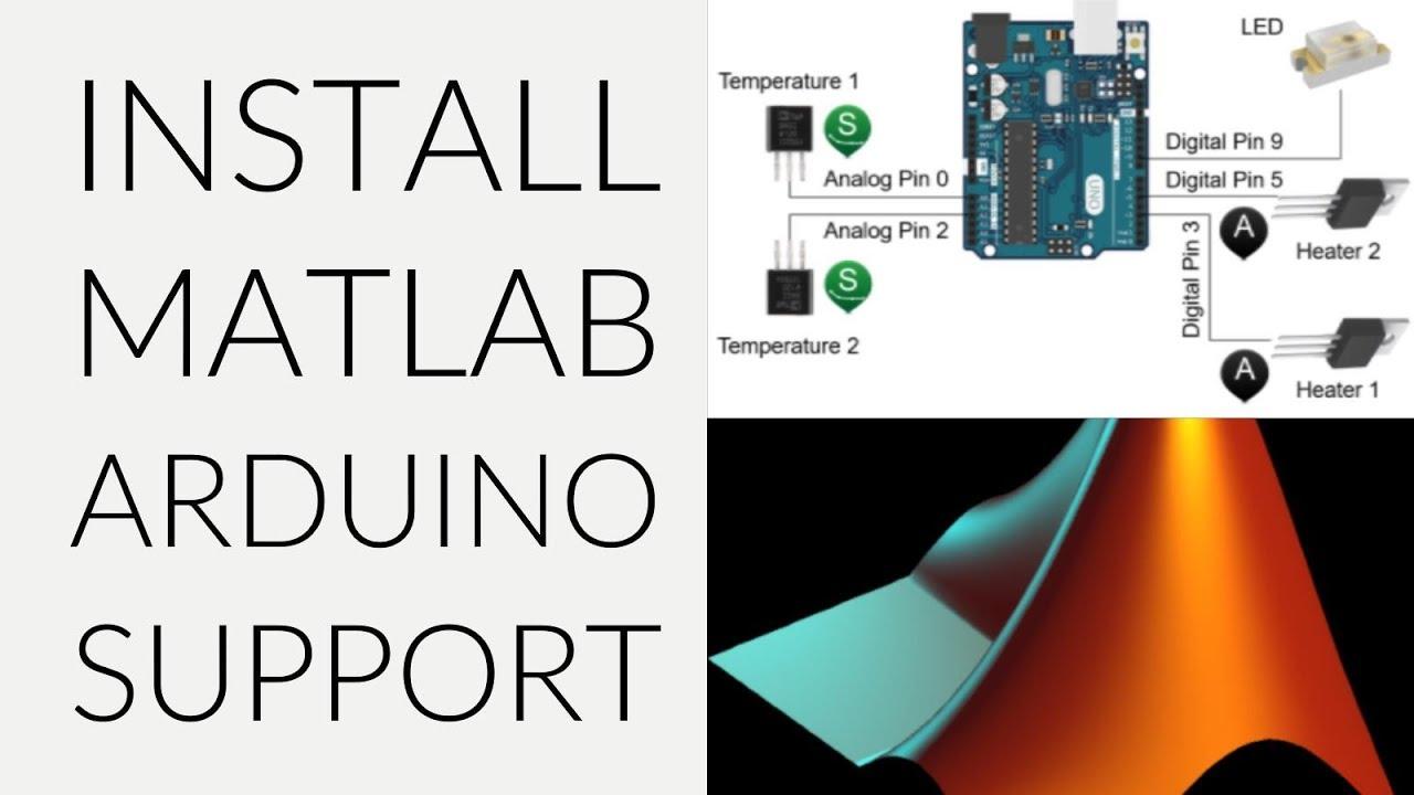 Install MATLAB Arduino Support