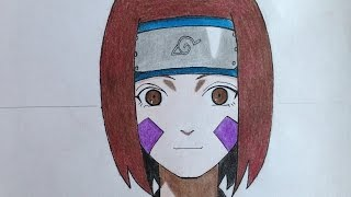 how to draw Rin Nohara (Naruto)