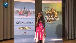 Jayachandran Ajentha : SSY15 :  Super singers 2013
