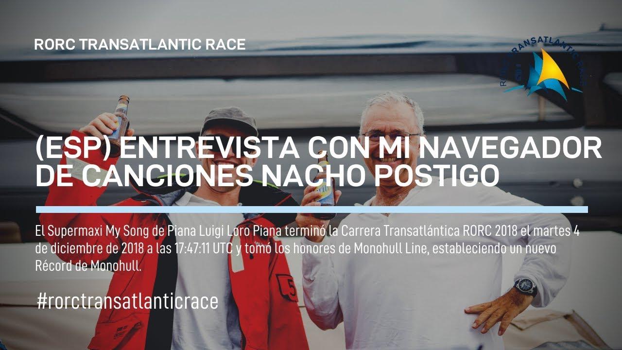 2018 RORC TRANSATLANTIC RACE Nacho Postigo (ESP)