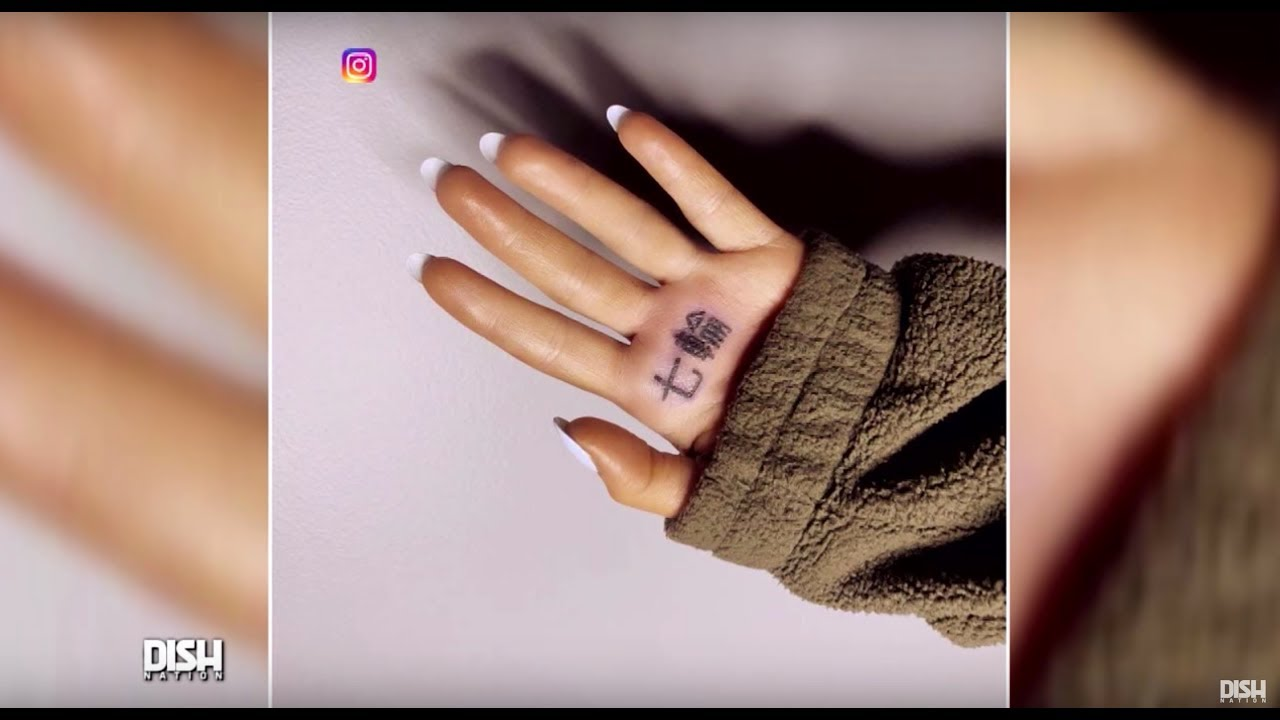 499572bd7 ARIANA GRANDE'S JAPANESE '7 RINGS' TATTOO ACTUALLY TRANSLATES TO 'BBQ GRILL'