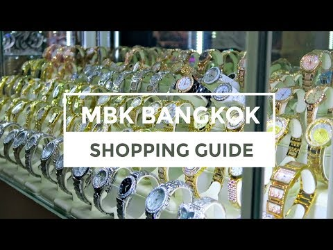 SHOPPING IN BANGKOK | Our guide to MBK Centre | WEATHER SO HOT IT BROKE OUR CAMERA?