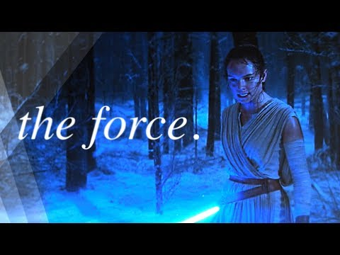 luke & rey || the force.