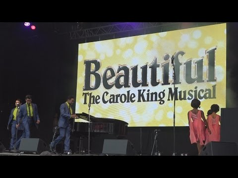 Beautiful: The Carole King Musical @ West End Live 2015 - Trafalgar Square London. Part 10
