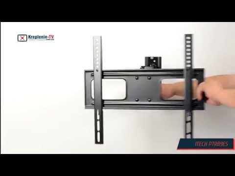 видео: itech ptrb9es - крепление для телевизора 40-70 дюймов.