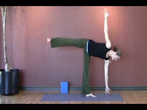 How to Practice Yoga Asana: Half Moon Pose