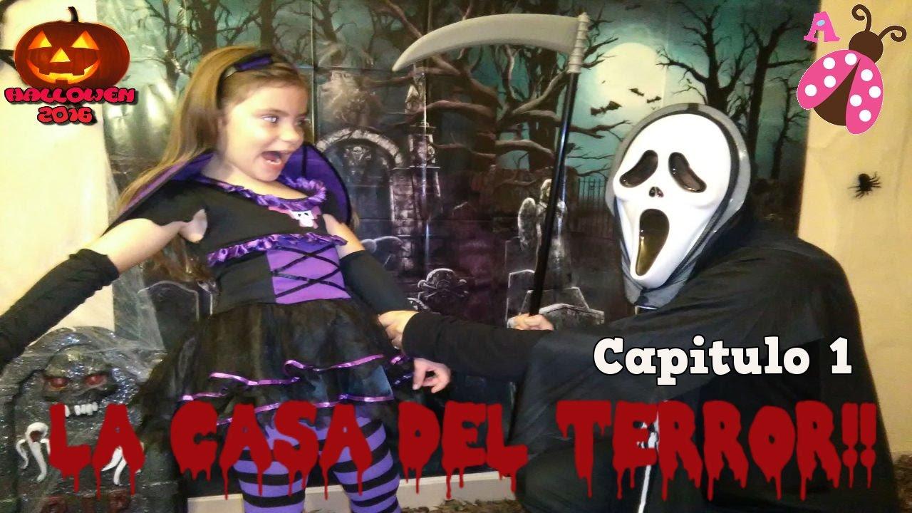 Especial De Halloween La Casa Del Terror La Casa Encantada Capitulo 1 Youtube