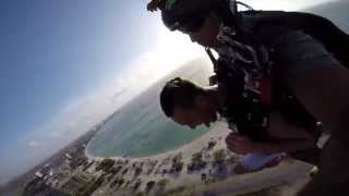Vinnie Skydive Aruba 2014