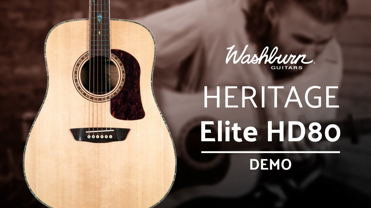 Acoustic Guitar Demo: Washburn Heritage Elite HD80