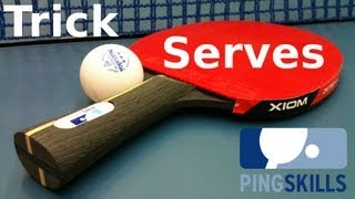 Table Tennis Trick Serves by PingSkills - Yeesss!