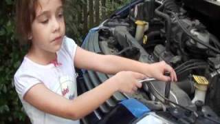 Isabel Knows How - Changing the Radiator on a Dodge Grand Caravan