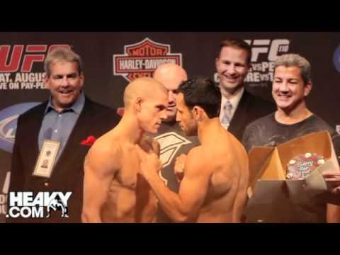 UFC 118 Weigh In Highlights