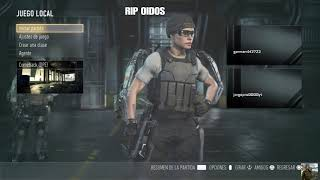 CALL OF DUTY ADVANCED WARFARE el día del rip OIDOS
