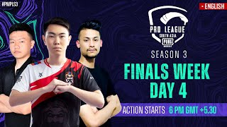 [EN] 2021 PMPL South Asia Finals Day 4 | S3 | Stalwart Flex close to the Champions Title!