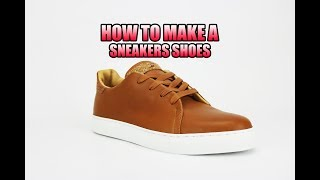 Alain Mukendi - Walk with me - How to make a sneakers shoes - Simplement  #4