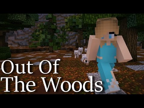 ♪ Taylor Swift ♪ - Out Of The Woods Minecraft Music video MV T Swift lyrics original cover song