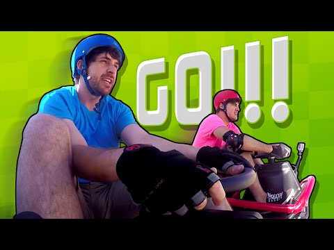 IAN VS. ANTHONY GO KART RACE