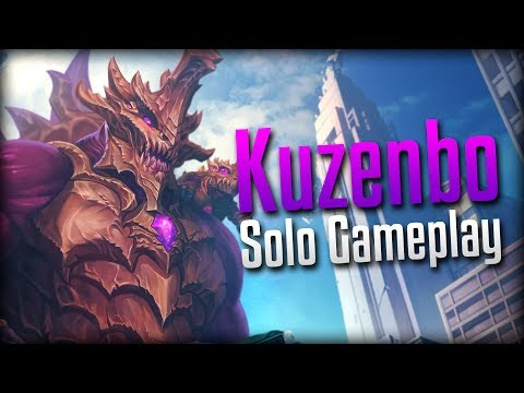 Smite: No Longer a Meme!?- Kaijunbo Kuzenbo Solo Gameplay