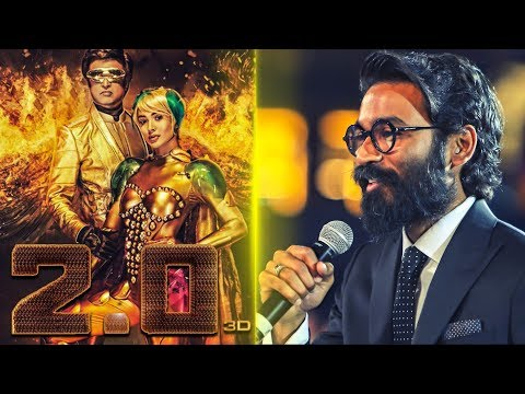 2.0 AUDIO LAUNCH: Dhanush Expectations in Shankar's 2.0 | Rajinikanth | Amy Jackson | TK 564