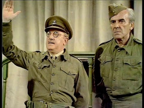 Dad's Army - Man Hunt - ... like Churchill, I was a voice crying in the wilderness...