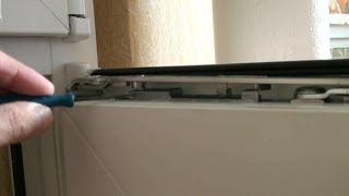видео Устройство пластиковой двери на балконе, конструкция и механизм балконной двери
