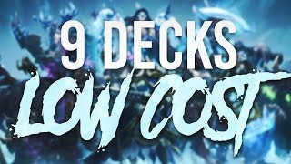 9 Decks low cost pour les chevaliers du Trône de Glace !